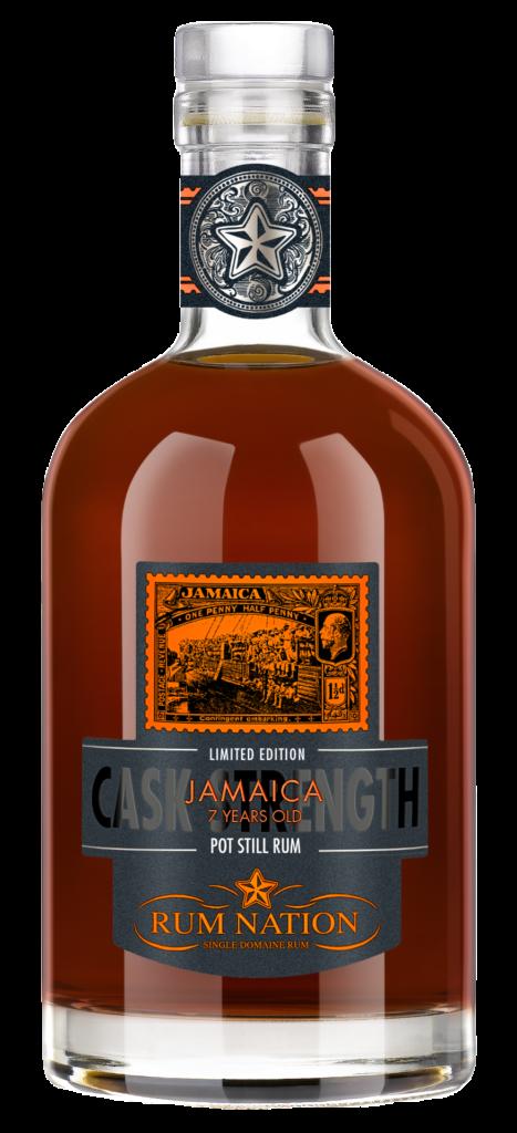 Jamaica 7 YO Cask Strength, Rum Nation